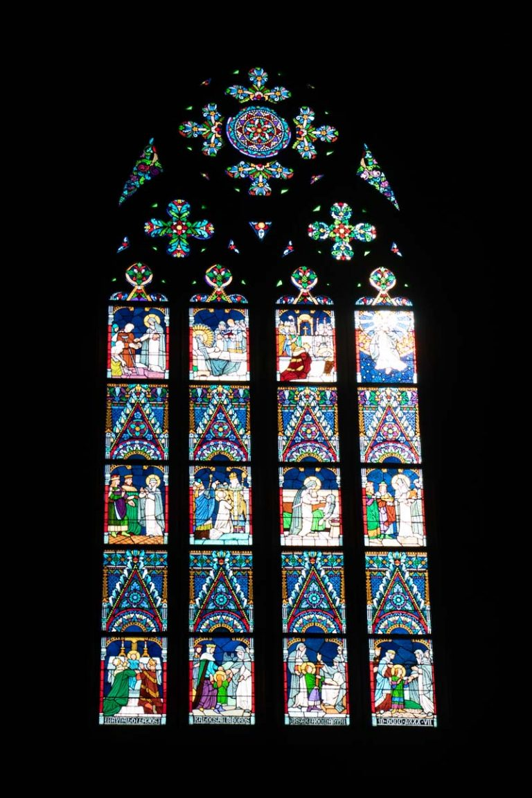 Window of Matthias Church