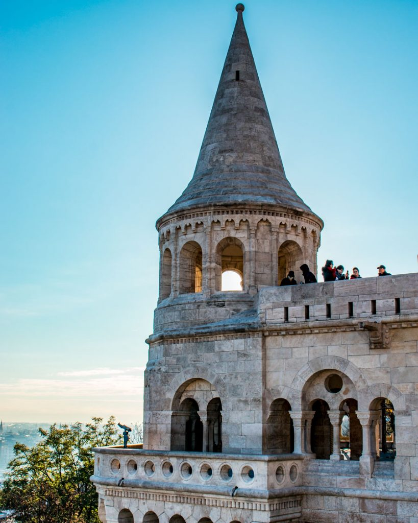 Fisherman's Bastion turret