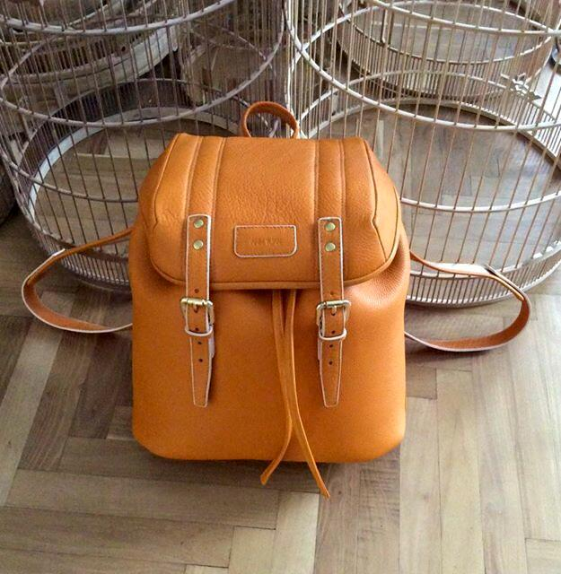 Anh Tuan leather backpack