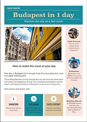 Budapest in one day - complete itinerary