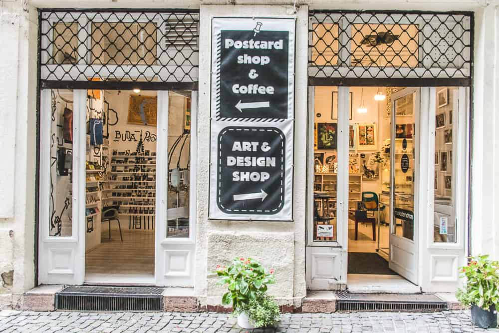design shop in Röser Courtyard
