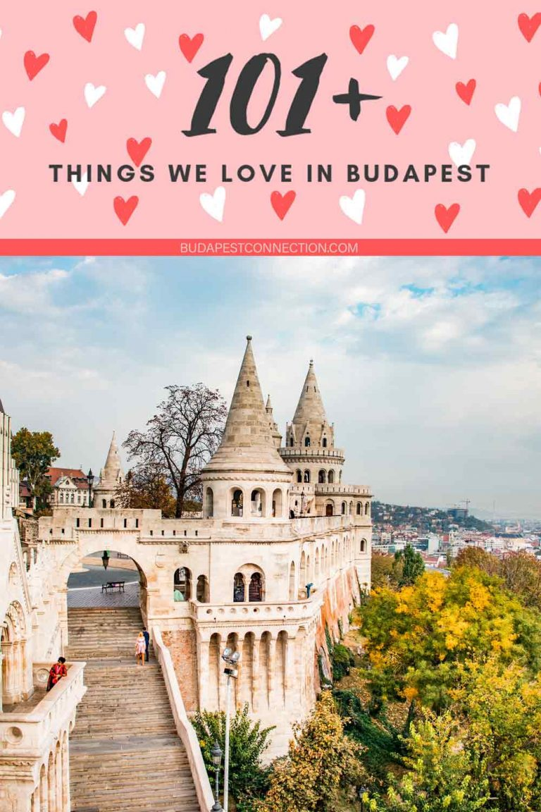 101+ things we love in Budapest PIN