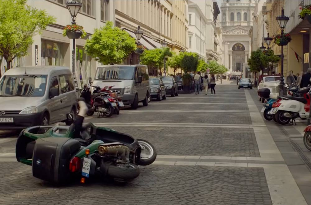 Budapest in movies: Spy