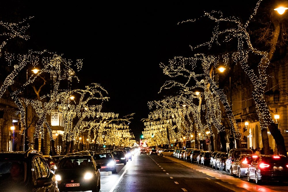 Chrismas in Budapest - Andrássy Avenue
