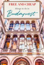 beautiful courtyard in Budapest